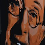 Charles Hawtrey Airbrushed