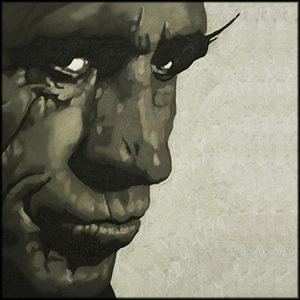 Keith Richards Oil Painting