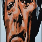 Airbrushed Robert Mitchum