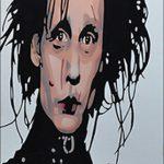 Edward Scissorhands Airbrushed
