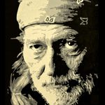 Willie Nelson Acrylic Painting