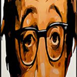 Woody Allen Airbrushed Board