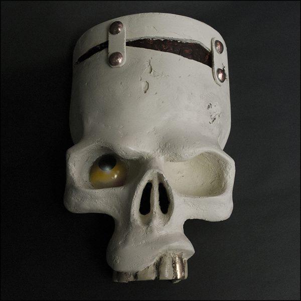 Frankenstein's Monster Skull Frankenskull