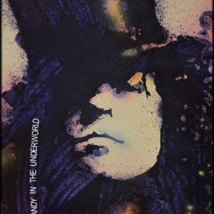 Marc Bolan Acrylic Painting
