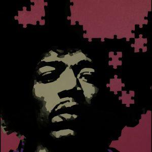 Jimi Hendrix Oil Painting