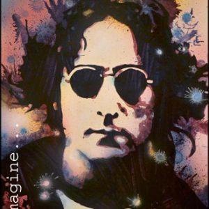 John Lennon Acrylic Painting