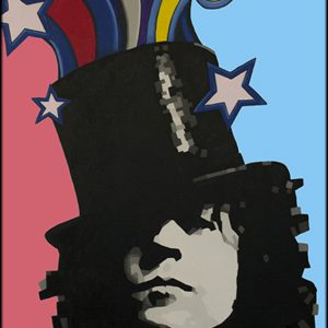 Marc Bolan Oil Painting